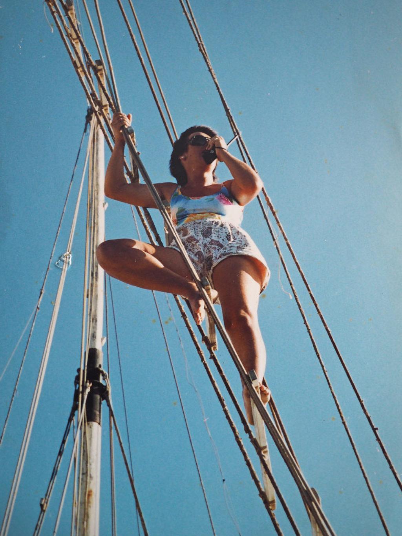 navigando a vista tra le barriere del Mar Rosso